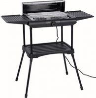 Gardalux Elektrische barbecue - (Zwart