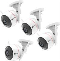 Ezviz Husky Outdoor IP Camera 4-pack + NVR