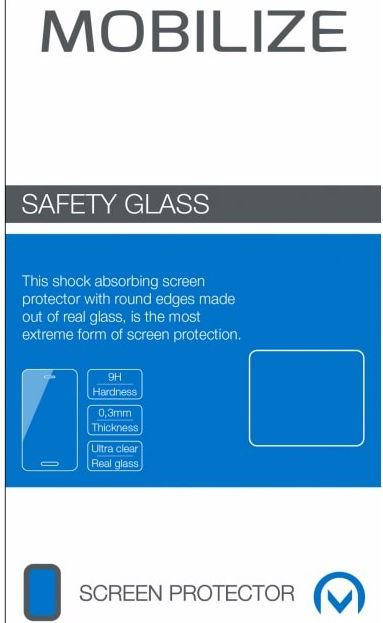 Mobilize Safety Glass Screenprotector Huawei P20