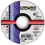 Flexovit Doorslijpschijf 115 A 24 V-BF41 INOX