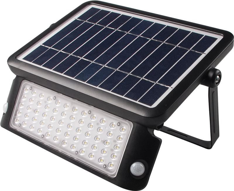 leds light solar buitenlamp 1080 lumen met sensor