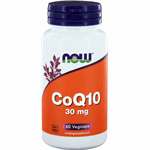 NOW CoQ10 30mg Capsules 60st
