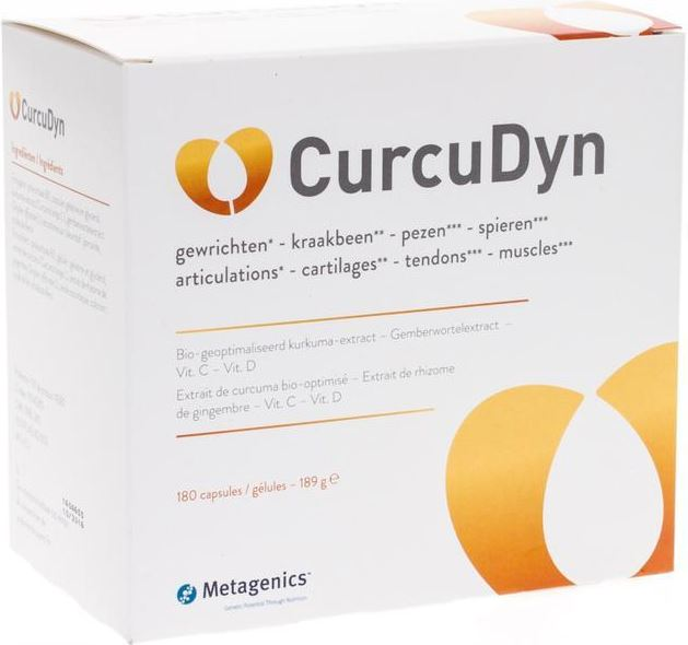 Metagenics Curcudyn Capsules 180st