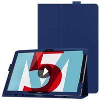 qMust Huawei MediaPad M5 10 / M5 10 Pro Tablet Hoes Blauw voor MediaPad M5 10 MediaPad M5 10 Pro blauw