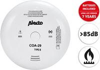 Alecto COA-29/7 Long life batterij 7jaar en long life sensor 7 jaar Wit