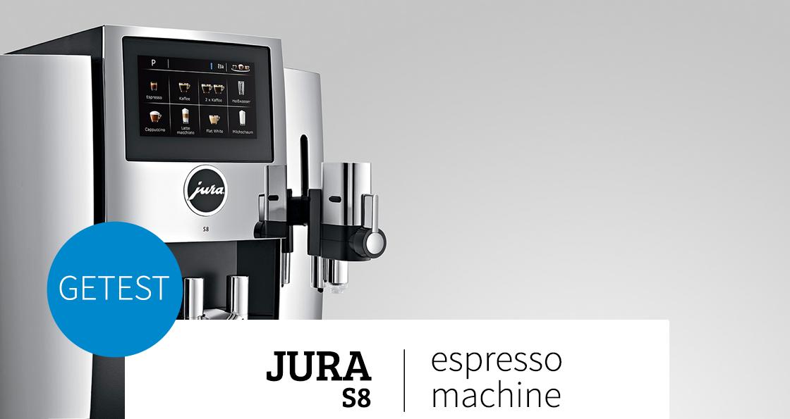 Jura S8 koffiemachines header