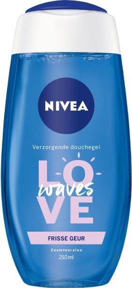 Nivea Showergel love waves 250ml