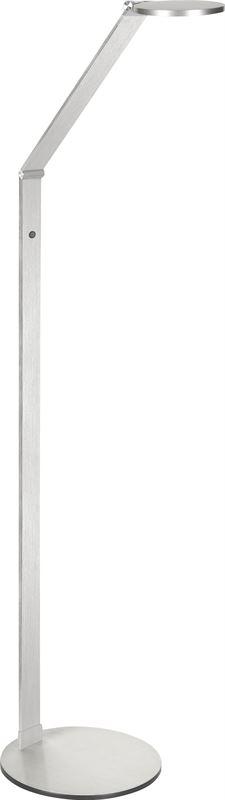 highlight vloerlamp proxy nikkel mat led 8w met 3 standen touchdimmer