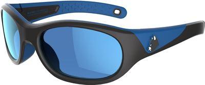 2dfae906fb5547 Quechua Zonnebril trekking voor kinderen 4-6 jaar MH K 900 blauw   zwart  categorie