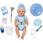 Zapf Creation Interactieve Pop - Blauw - Babypop