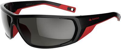 fbbe531e3624d2 Quechua Zonnebril VW MH 570 zwart rood polariserend categorie 4