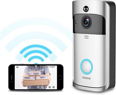 Draadloze Deurbel Met Camera.Point Of View Draadloze Wi Fi Smart Deurbel Met Camera App Kopen