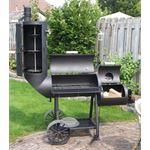 Broilfire 14 Inch Oklahoma Country Smoker chuck wagon 6 mm Kusa5