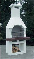 Intergard Nr. 9 Tuinhaard en Houtskoolbarbecue - Beton