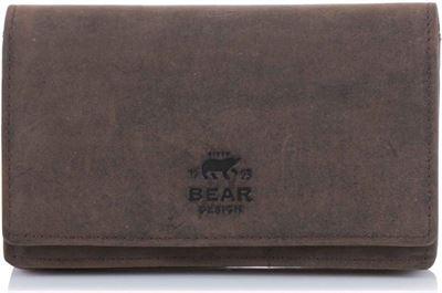 Bear Design Portemonnee Dames.Bear Design Bear Design Dames Portemonnee Hd 782 8994 Donkerbruin
