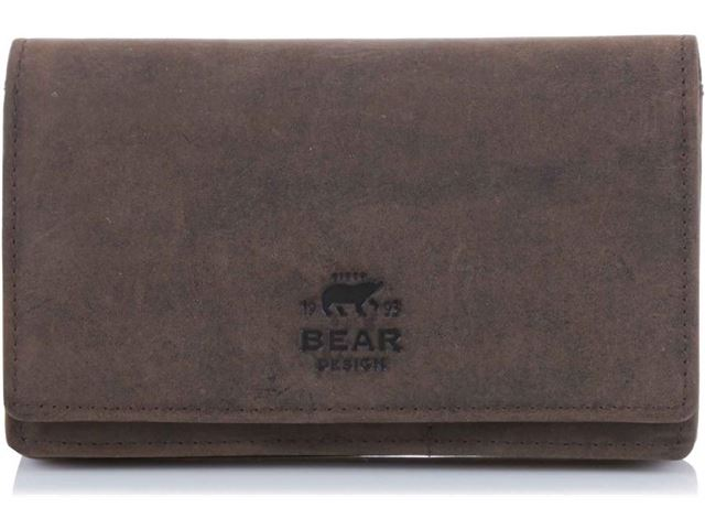 51cfad167c5 Bear Design Bear Design Dames Portemonnee HD 782 / 8994 donkerbruin kopen?  | Kieskeurig.nl | helpt je kiezen