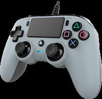 Nacon Officieel gelicenseerde Wired Compact Controller voor PS4 - grijs