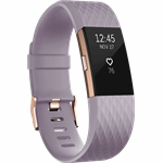 Fitbit Charge 2 roze, goud