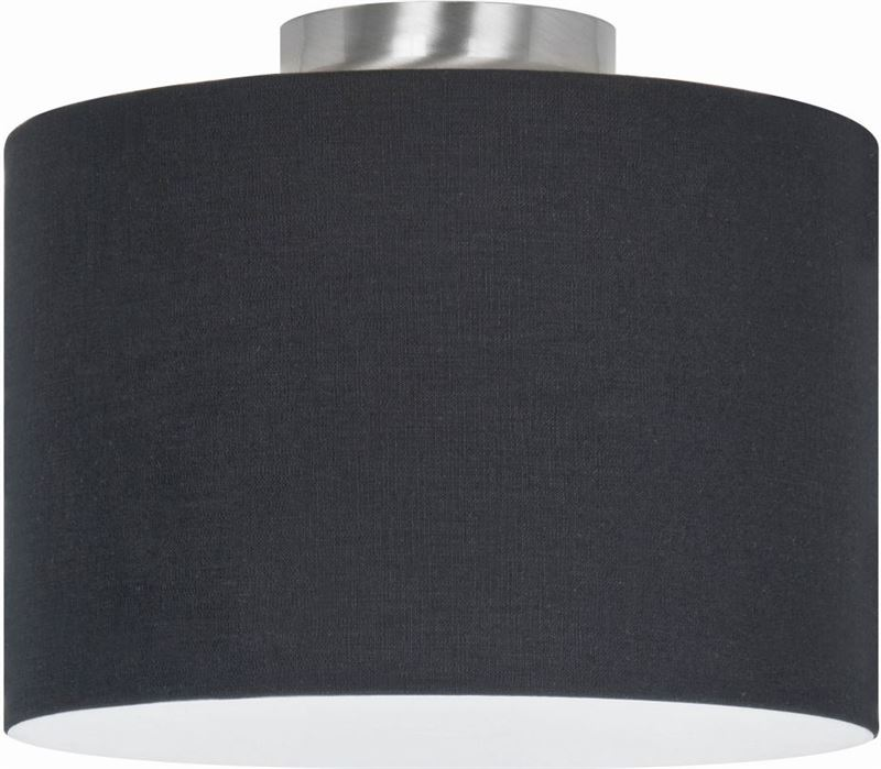 highlight plafondlamp rod kort nikkel mat zonder kap