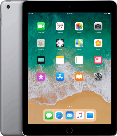 Apple iPad 2018 9,7 inch / grijs / 32 GB