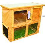 zooplus Exclusive Hoes voor konijnenhok Outback Compact - XL: L 106 x B 58 x H 87 cm