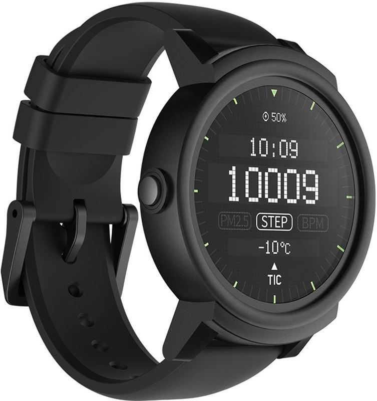 Ticwatch E - Express Smartwatch - Shadow