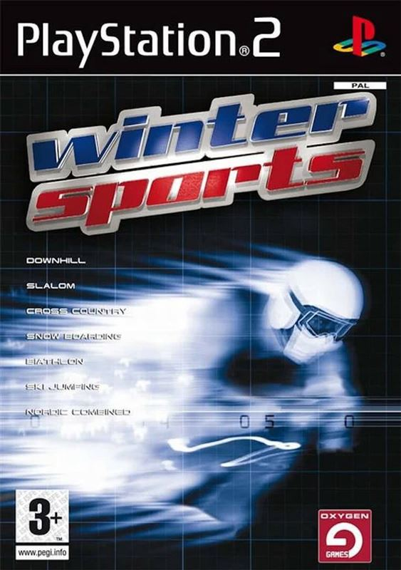 Oxygen Interactive Winter Sports (PS2