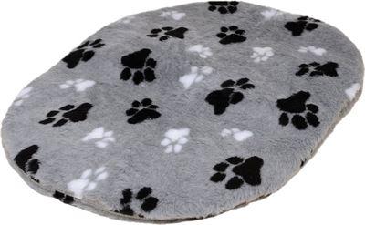 Bench Met Kussen : Lovely nights bench hondenmand kussen teddy grijs 2 voetprint 69 cm