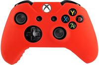 The Powerstore Silicone Hoes / Skin voor XBOX ONE Controller Rood