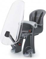 Polisport Bilby - Fietsstoeltje Voor + windscherm - Zwart