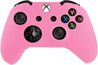 The Powerstore Silicone Hoes / Skin voor XBOX ONE Controller - Roze