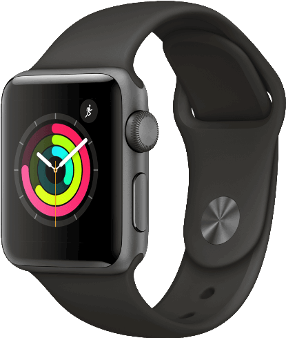 Apple 3 Watch Series 3 grijs / S|L