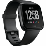 Fitbit Versa zwart / S|L