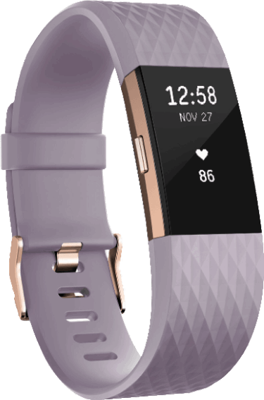 Fitbit Charge 2 roze, goud / S