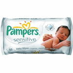 Pampers Billendoekjes Sensitive 56 stuks