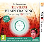 Nintendo Dr Kawashima's Devilish Brain Training: Can you stay focused?, 3DS Nintendo 3DS