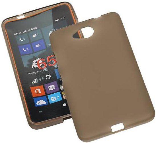 9ee0667b2e0993 MobieleTelefoonHoesje.nl Microsoft Lumia 950 XL Hoesje TPU Backcover Grijs