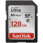 Sandisk SDXC Ultra 128.0GB 80MB/s CL10