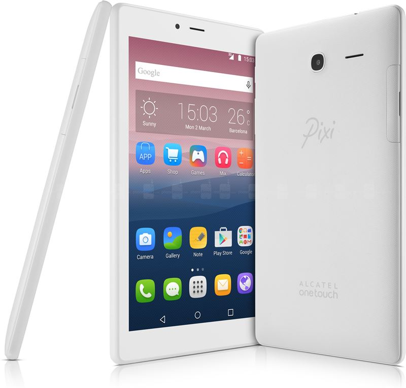 Alcatel One Touch Pixi 4 7,0 inch / wit / 8 GB