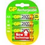 GP Batteries NiMH rechargeable batteries AA