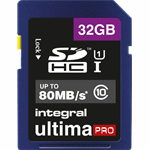 Integral 32GB SDHC UltimaPro