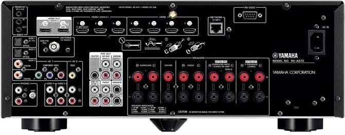 Yamaha RX-A870   Specificaties   Kieskeurig nl