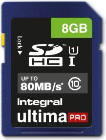 Integral 8GB SDHC UltimaPro