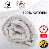 SleepNext - 100% KATOEN - 4-Seizoenen dekbed - 240x220cm