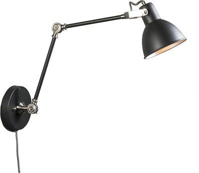 QAZQA Wandlamp Dazzle lang grijs