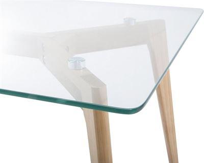 Glazen Tafels Prijzen.Beliani Salontafel Bijzettafel Woonkamertafel Glazen Tafel