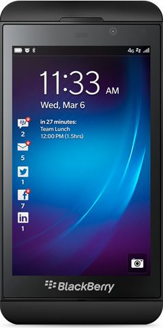 BlackBerry Z10 16 GB / zwart