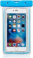 Mmobiel Waterdichte Telefoon Hoes / Waterproof Bag / Case / Pouch - Universeel - Geschikt voor Alle Smartphones - tot 6 Inch - functies onderwater beschikbaar - iPhone / Samsung / Huawei - Blauw