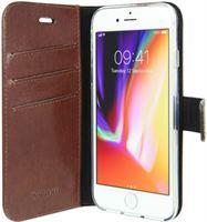 Valenta Booklet Leather Brown - Gel Skin iPhone 8/7/6/6S