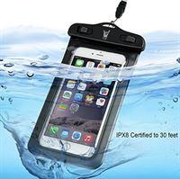 iCall Waterdichte Hoesje voor alle Telefoons tot 6 inch – Waterdicht tot 10 meter - Waterproof Case / Pouch – voor onder andere Apple iPhone 8 Plus / 7 Plus / 6/6s Plus / 5/5S/5C/SE / Samsung Galaxy S7 / S6 Edge / Huawei P10 Lite